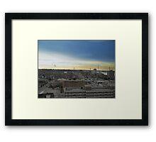 Windsor from Above Framed Print