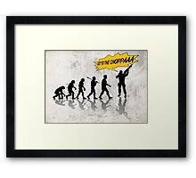 Get to the choppaaa Framed Print