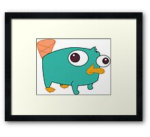 Baby Perry! Framed Print