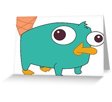 Baby Perry! Greeting Card
