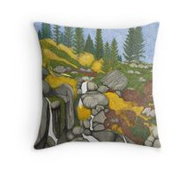Tahoe Echo Falls Throw Pillow