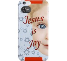 Jesus is Joy iPhone Case/Skin