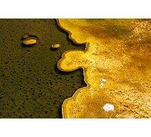 Yellowstone Geothermal feature 1 Photographic Print