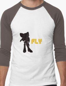Fly Type: Rouge Men's Baseball ¾ T-Shirt