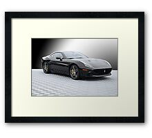 2015 Ferrari California 'Study in Black' Framed Print