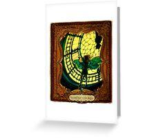 2012 Steampunk Calendar Page 11 Greeting Card