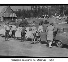 Weekend at Tatra Mountains . Głodówka. Poland . 1961, Hmm... 50 years ago. My autobiography. Views (171) thanks!   featured in1950+ Planes Trains n Automobiles. by AndGoszcz