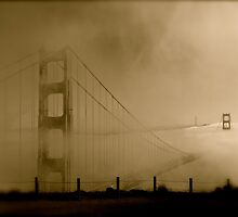 Suspended In Time - Golden Gate Bridge by Jphotoz