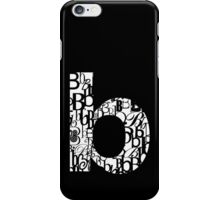 The Letter B iPhone Case/Skin