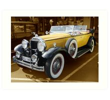 1930, Model 733 Dual Cowl Phaeton Art Print