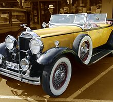 1930, Model 733 Dual Cowl Phaeton by Dean Wiles