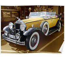 1930, Model 733 Dual Cowl Phaeton Poster