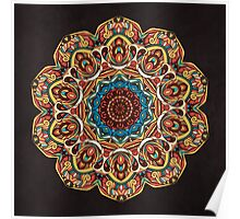 Trippy Mandala Poster