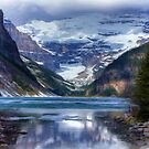Lake Louise in Oil by Pam Hogg