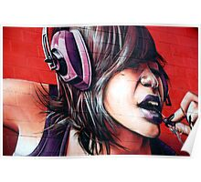 Blackpool's Graffiti Poster