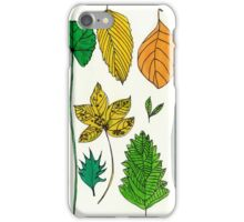 Leaves of the Park iPhone Case/Skin