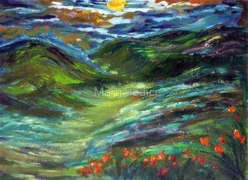 MOONSHINE VALLEY  by Mary Sedici