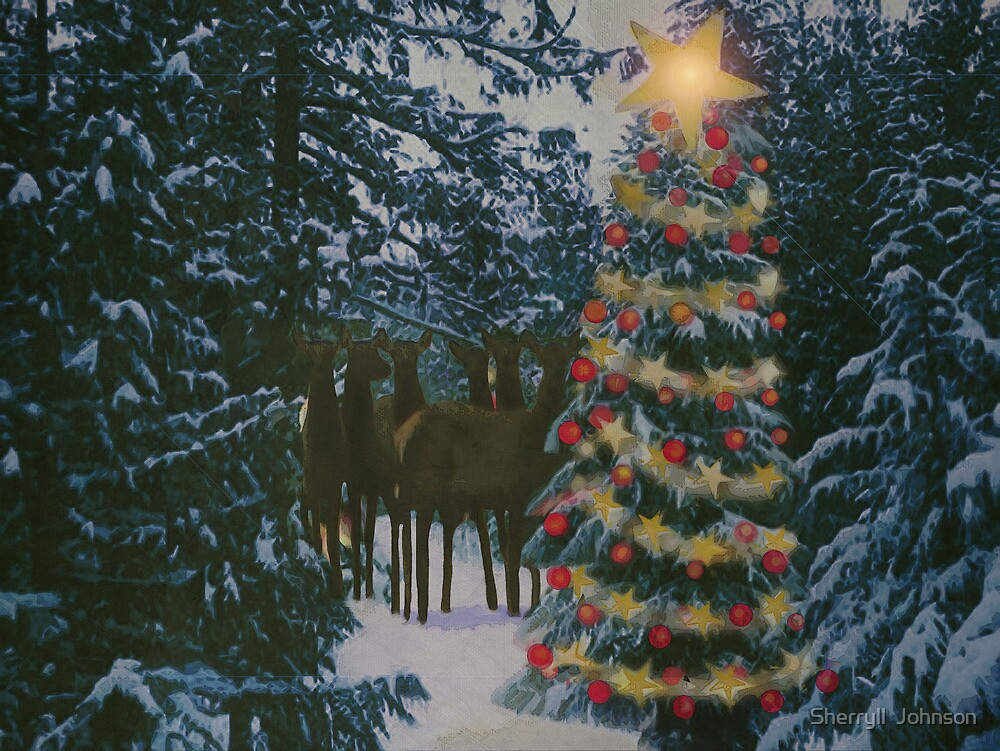 CHRISTMAS TREE by Sherryll  Johnson