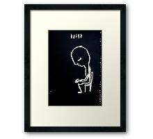 11:11 TIME FOR ART Framed Print