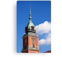 Warsaw Royal Castle. Canvas Print