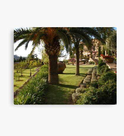 Paradise in Majorca Canvas Print