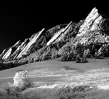 Flatirons In Infrared by Greg Summers