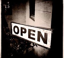 Open for Business by LisaWaddell