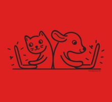 Cat & Dog Internet Users Kids Clothes