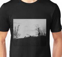 Creepy Dead Trees Unisex T-Shirt