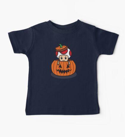 Halloween Toad Baby Tee