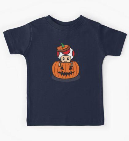 Halloween Toad Kids Tee