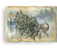 Stealing Christmas Metal Print