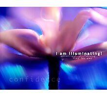 I am illuminating! Photographic Print