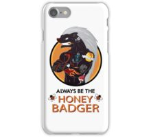Honey Badger (2/3) iPhone Case/Skin