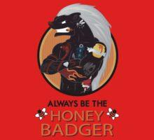 Honey Badger (2/3) Baby Tee