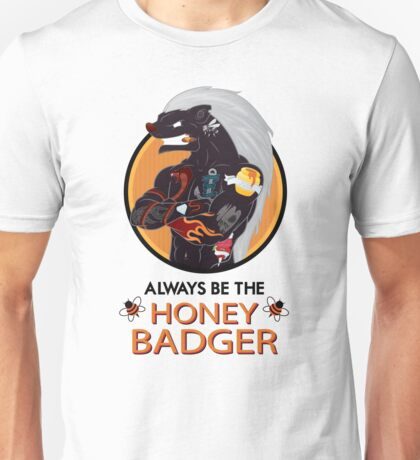 Honey Badger (2/3) Unisex T-Shirt