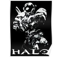 White Halo Poster