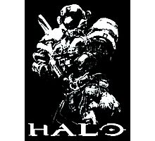 White Halo Photographic Print
