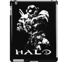 White Halo iPad Case/Skin