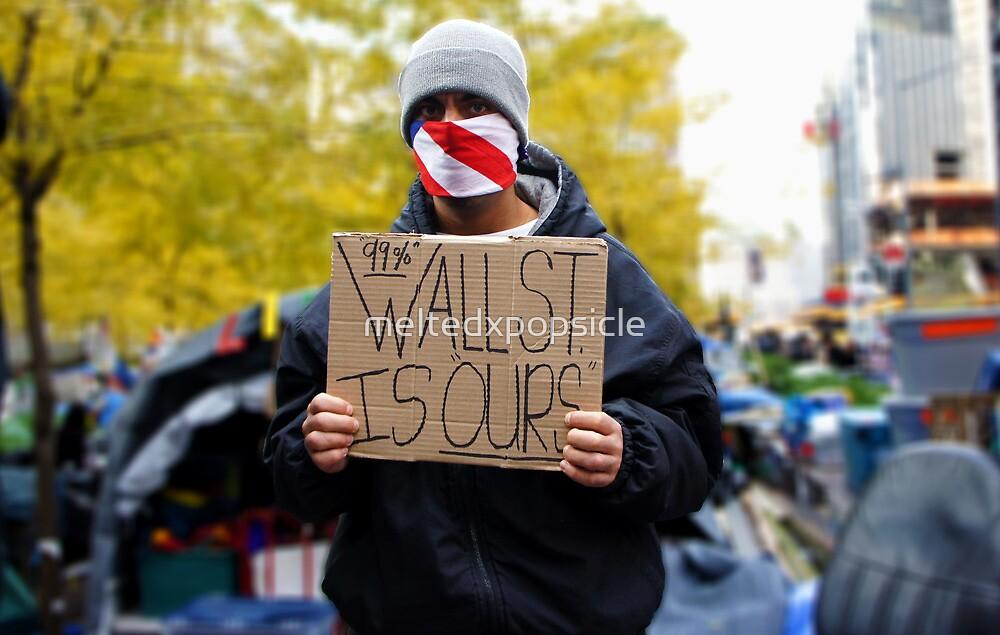 Occupy Wall Street by Jessica Liatys