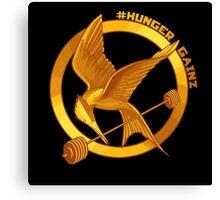 #HungerGainz Canvas Print