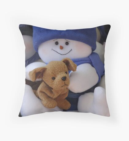 Christmas Cuteness Throw Pillow