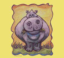 Animal Parade Hippopotamus Baby Tee