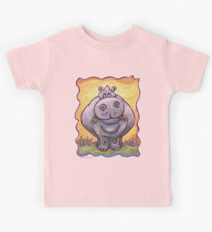 Animal Parade Hippopotamus Kids Tee