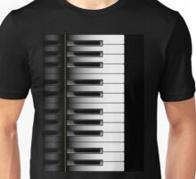 Piano - 2 Octaves Unisex T-Shirt