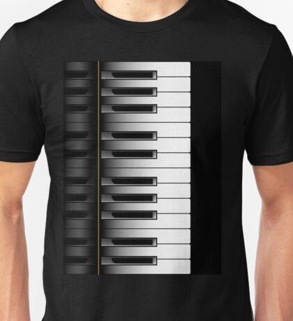 Piano - 2 Octaves Unisex T-Shirt