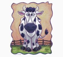 Animal Parade Cow One Piece - Short Sleeve
