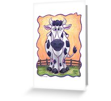 Animal Parade Cow Greeting Card