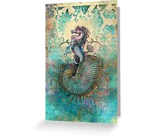 The Seahorse Diary Greeting Card