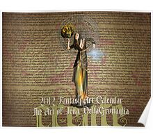 2012 Fantastical Art Calendar Poster